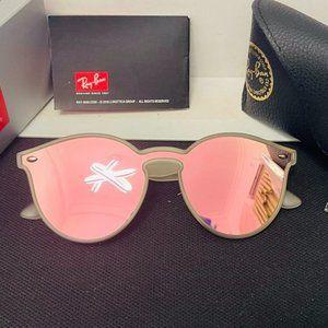 RayBan Pink Gradient Blaze RB4380n Sunglasses